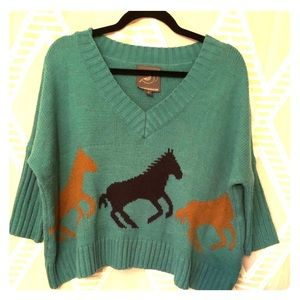 🌟Super cute horse sweater from Anthropologie🌟